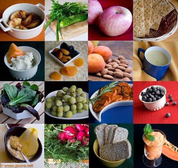 Большое количество полезных продуктов, которые разрешены при диете