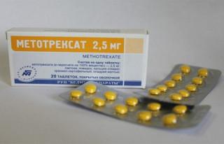 Метотрексат от псориаза